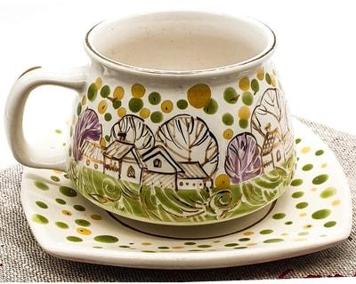 """Чайная пара """"Улыбка"""", соли, золото. """"Летнее утро"""" (фото, Чайная пара"""