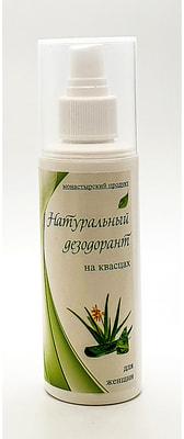 Натуральный дезодорант на квасцах для женщин