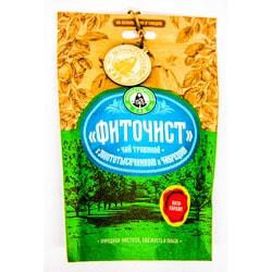 """Травяной чай """"Фиточист"""" (Антипаразит) с золототысячником и чабрецом"""